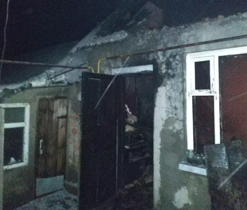В одном из районов Запорожской области горели два жилых дома - ФОТО