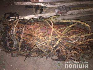 В Запорожье из незаконного пункта приема изъяли 11 тонн металлолома - ФОТО, ВИДЕО