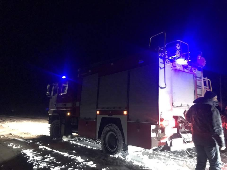 На дорогах Запорожской области 83 человека попали в снежный плен