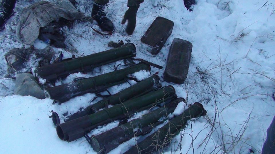 В Запорожской области СБУшники обнаружили схрон с гранатометами - ФОТО