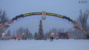 Снег, рождественская молитва и вертеп: как запорожцы отпраздновали Рождество - ФОТО, ВИДЕО