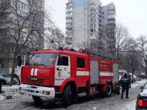В Запорожье пожар в 14-этажном доме унес жизни двух человек - ФОТО