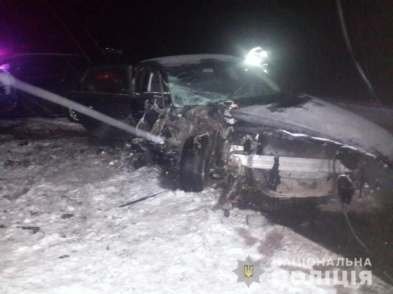 На трассе в Запорожской области произошло смертельное ДТП: женщина погибла, а маленькие дети попали в больницу