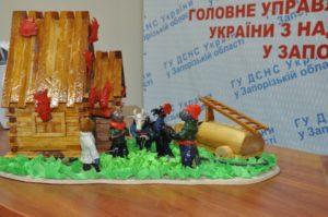 В Запорожье спасатели выбрали лучшие работы школьников на пожарную тему