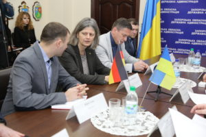 Запорожская область получила 18 миллионов евро грантовой помощи от немцев