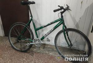 В Запорожской области полицейские задержали велосипедного вора с наркотиками