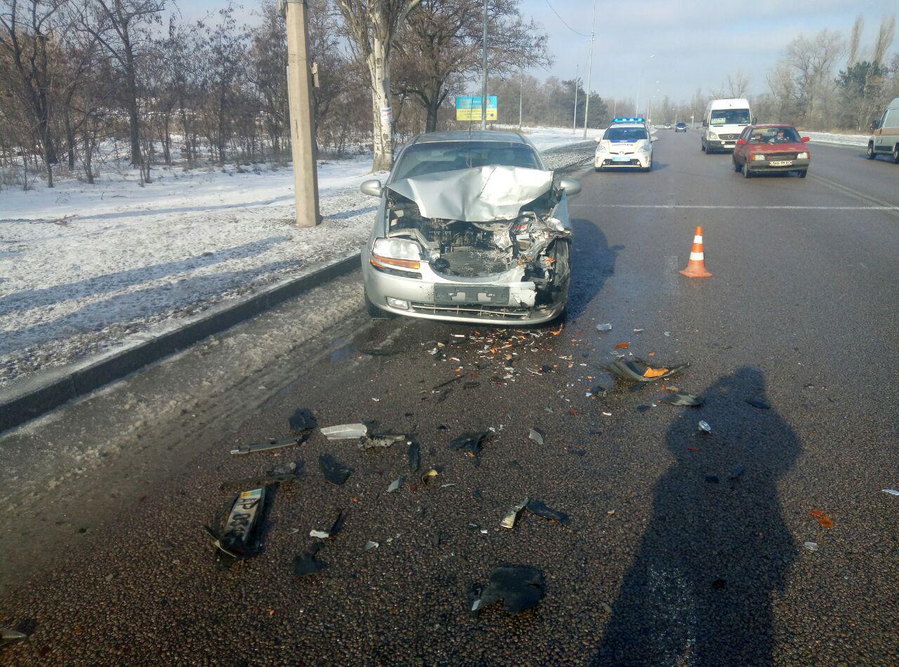 В Запорожье произошла авария на острове Хортица – ФОТО