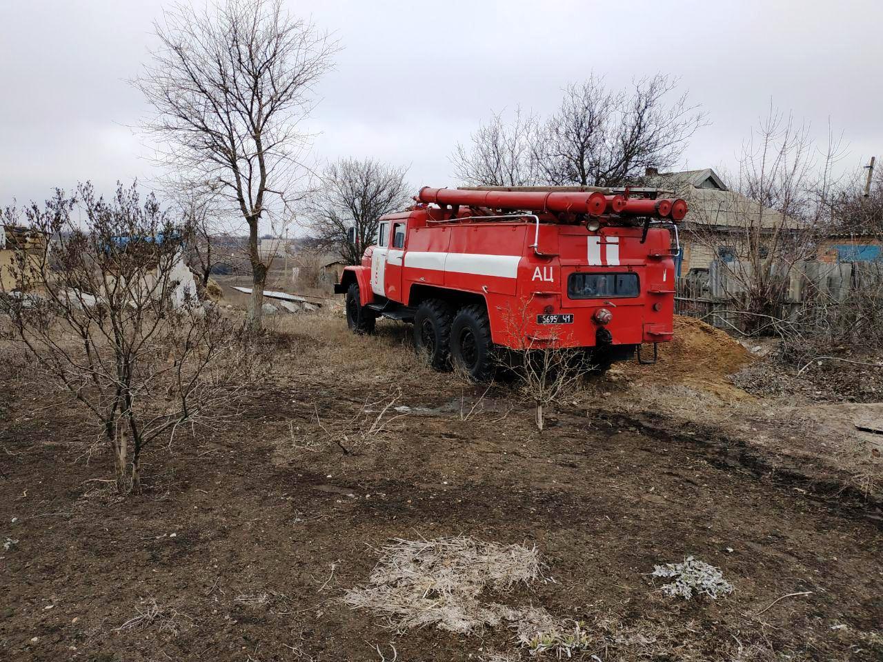В Запорожской области произошел пожар в жилом доме – ФОТО