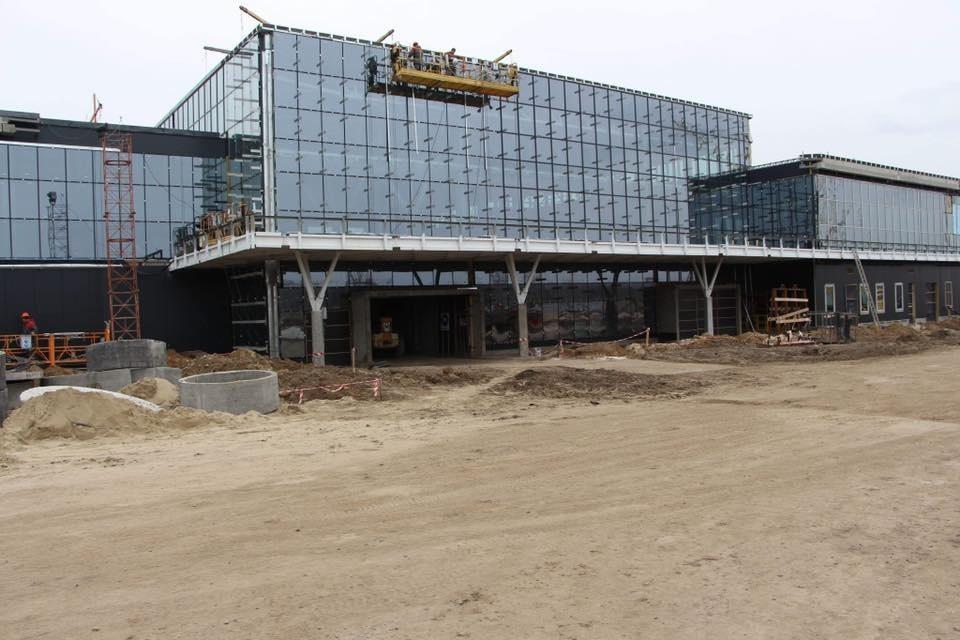 В Запорожье с появлением нового международного терминала в аэропорту появится транзитный хаб