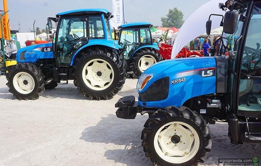 На Запорожском автомобильном заводе начали сборку корейских тракторов