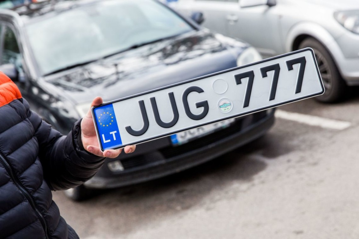 В Запорожской области растаможили почти две тысячи авто на еврономерах