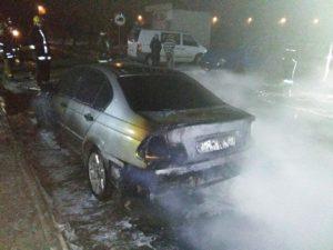В Запорожской области дотла сгорел автомобиль