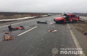 На запорожской трассе легковушка врезалась в грузовик: двое погибших - ФОТО, ВИДЕО