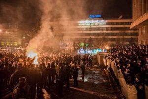 В Запорожье прокуратура привлекла к ответственности девять человек за разгон майдана