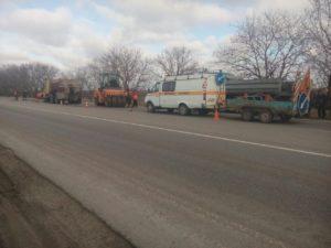 В Запорожской области дорожники сосредоточились на аварийном ямочном ремонте - ФОТО
