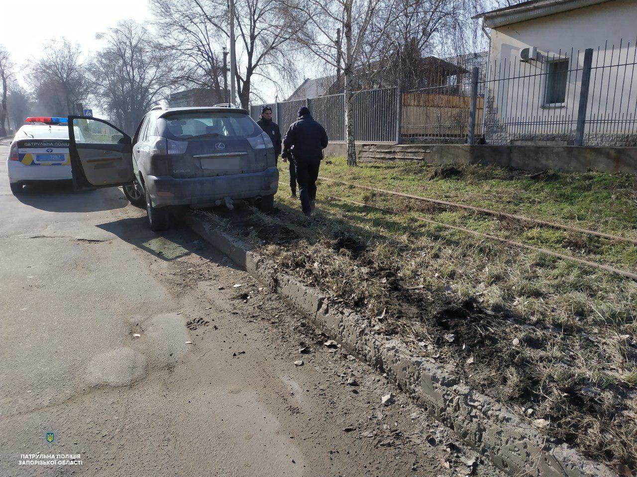 В Запорожье произошло два ДТП по вине пьяных водителей - ФОТО
