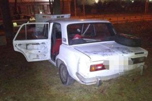 В Запорожье ночью патрульные устроили погоню за пьяным угонщиком - ФОТО, ВИДЕО