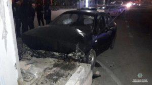 В центре Запорожья ночью напали на таксиста - ФОТО