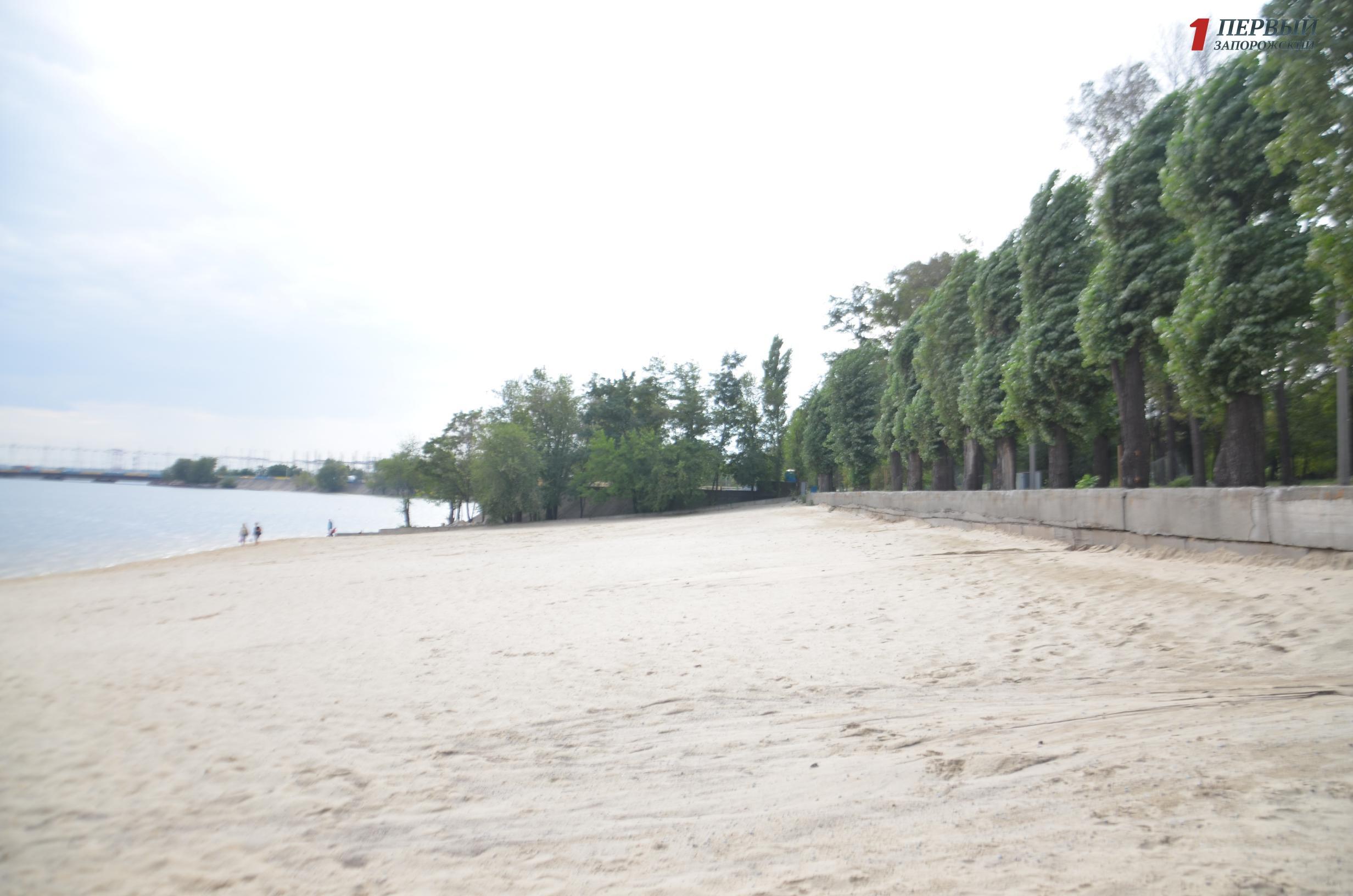 В Запорожье УКС отдаст новым подрядчикам более 8 миллионов гривен за завершение реконструкции Правобережного пляжа
