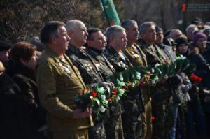 В Запорожье состоялся митинг по случаю 30-летия вывода войск из Афганистана – ФОТО