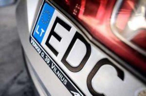 В Запорожской области растаможили более тысячи авто на еврономерах