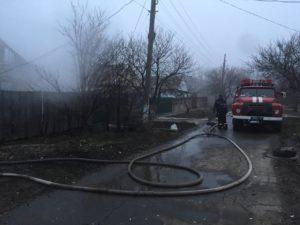 В Запорожской области во время пожара погибли два человека - ФОТО