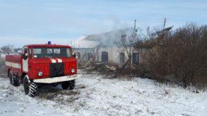 В Запорожской области мужчина погиб при пожаре в собственном доме - ФОТО