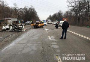 В Запорожье полиция разыскивает свидетелей смертельного ДТП, в котором погибли два человека