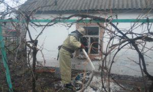 В Запорожской области в пожаре в собственном доме заживо сгорел мужчина - ФОТО