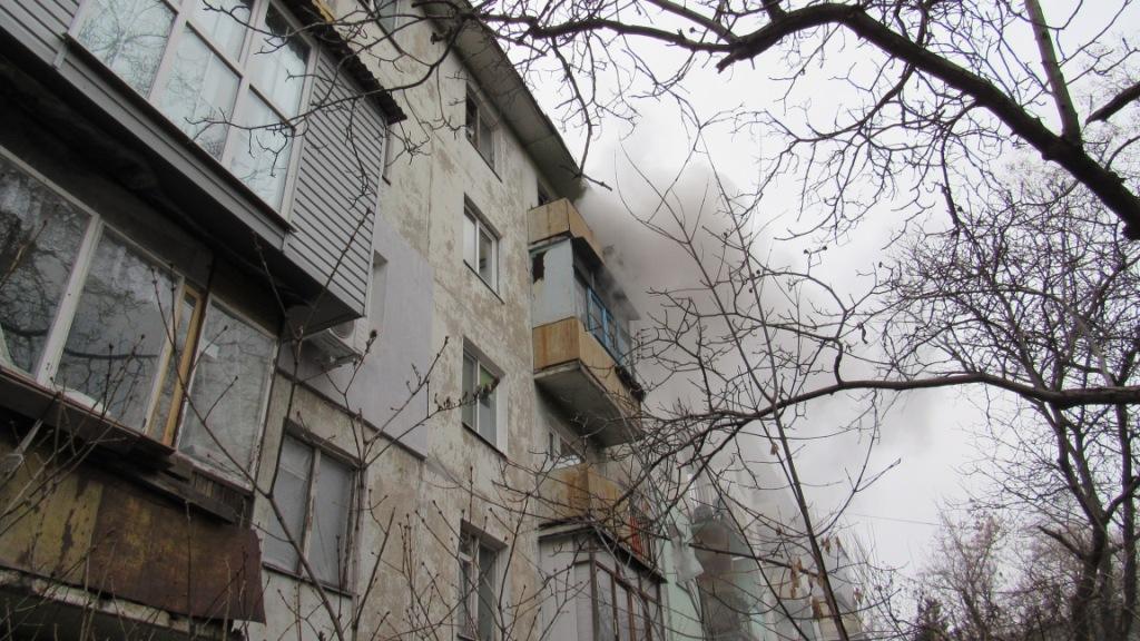 В Запорожье произошел пожар в многоэтажке на центральном проспекте города - ФОТО