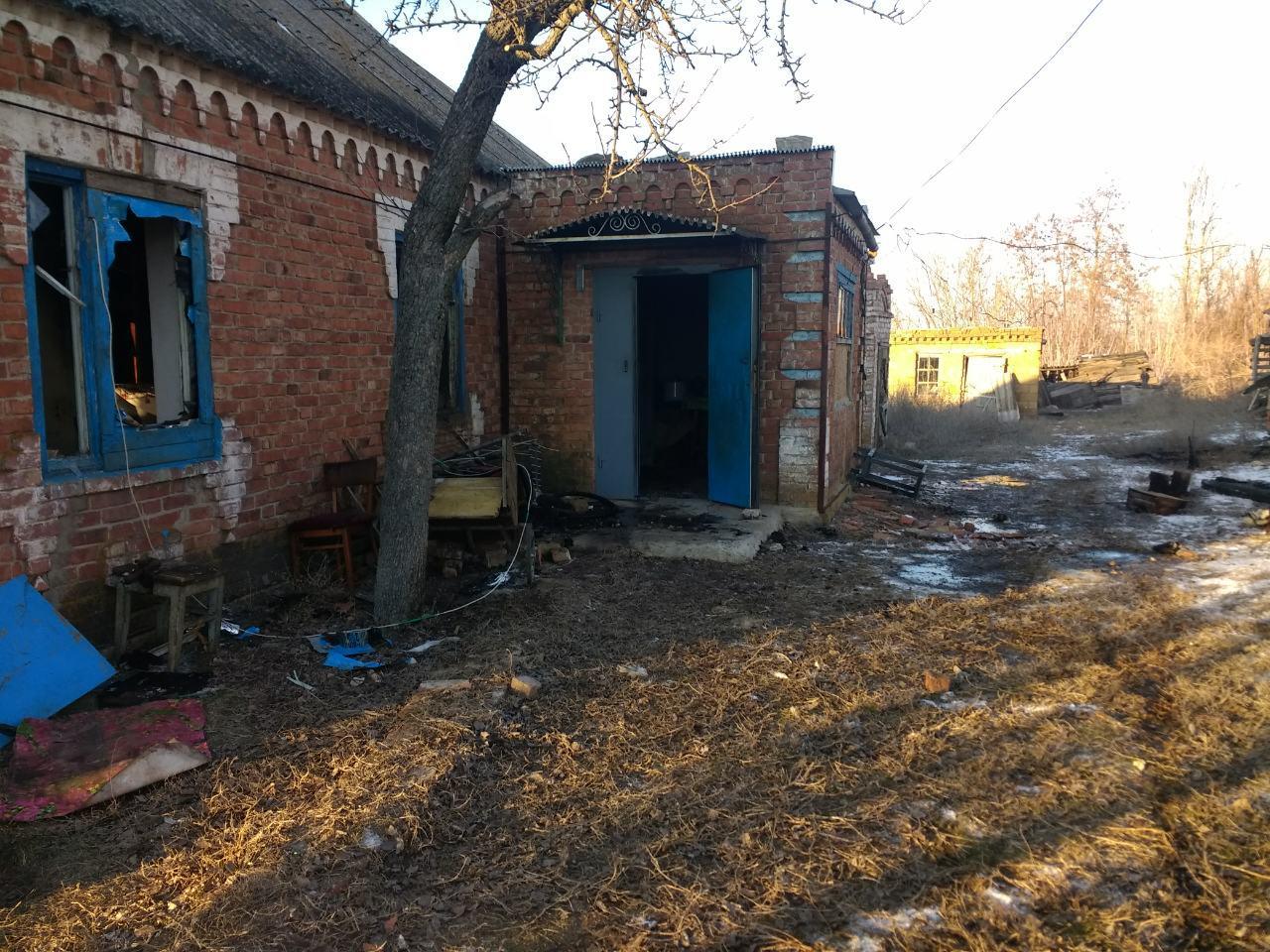 В Запорожской области произошел пожар в жилом доме