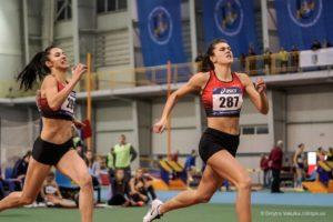 Запорожская спортсменка выборола чемпионство Украины по легкой атлетике