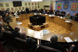 В Запорожье наградили медалями и грамотами воинов-афганцев - ФОТО