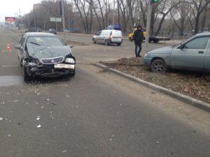 В Запорожье произошло ДТП на Набережной рядом с «Радугой» - ФОТО