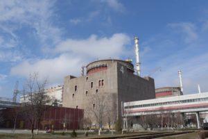 На Запорожской АЭС ночью отключили один из энергоблоков