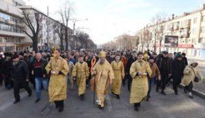 На выходных в Запорожье УПЦ МП проведет Крестный ход в центре города: дорогу перекрывать не будут