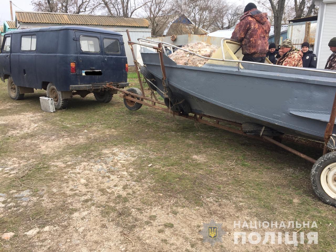 В Запорожской области задержали браконьеров с уловом на 127 тысяч гривен - ФОТО