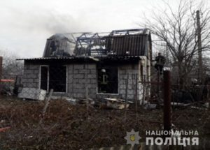 В Запорожье мужчина зарезал своего отца и поджег дом, чтобы скрыть убийство - ФОТО