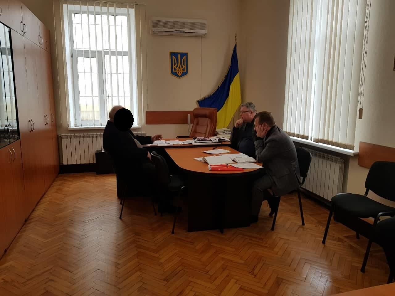 Главе запорожского села вручили подозрение в растрате бюджетных средств при газификации села