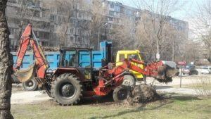 В Александровском районе Запорожья проводят весеннюю уборку за 700 тысяч гривен - ФОТО