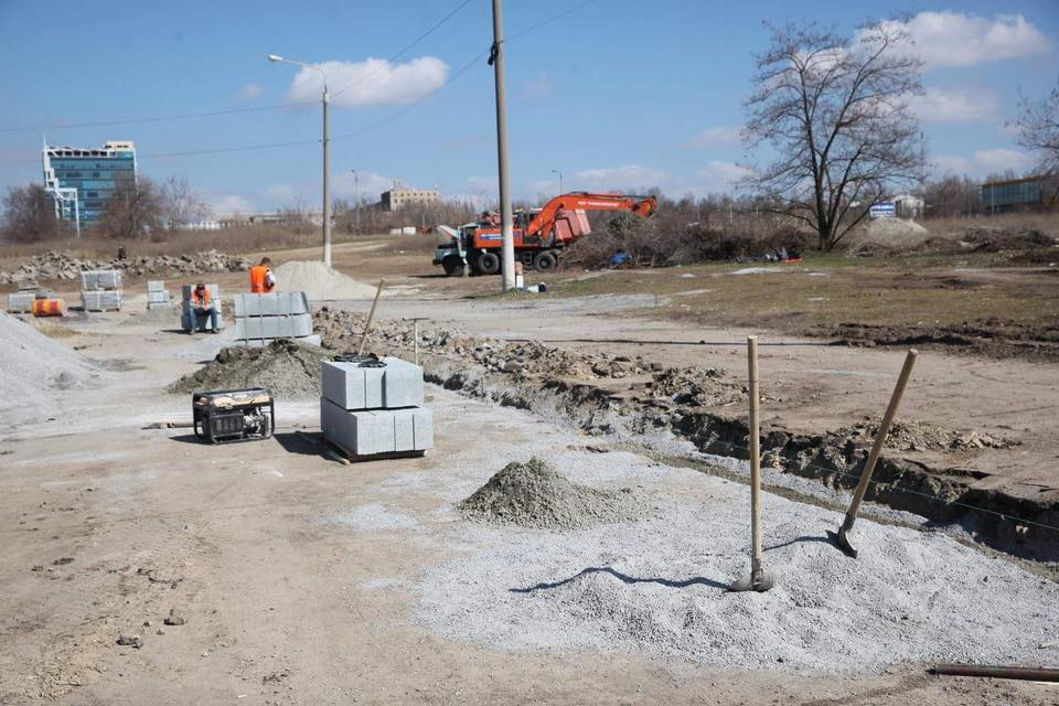 В Запорожье стартовал завершающий этап реконструкции проспекта Маяковского - ФОТО