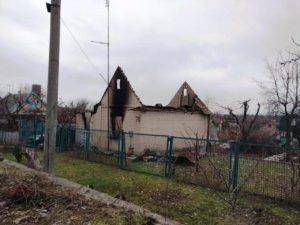 В Запорожской области сгорел дачный дом: погиб мужчина - ФОТО