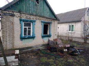 В Запорожской области детская шалость стала причиной пожара в доме - ФОТО