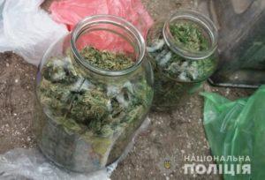 У жителя Запорожской области изъяли 1,5 килограмма каннабиса и оружие - ФОТО