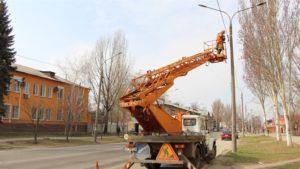 В Запорожье на одной из улиц Шевченковского района установили современные светодиодные светильники - ФОТО