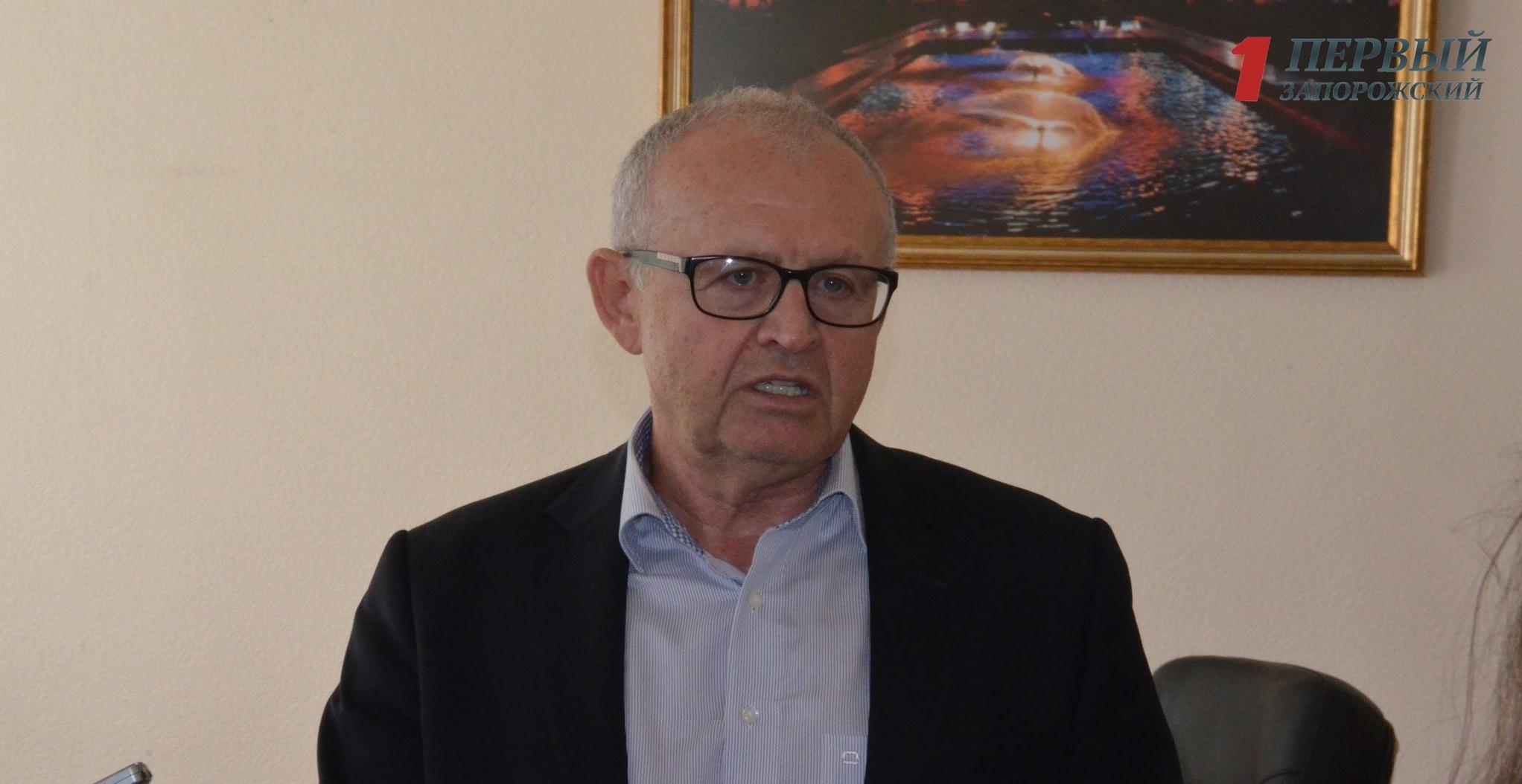 В Запорожье заместитель городского головы Валерий Эделев покинет свою должность