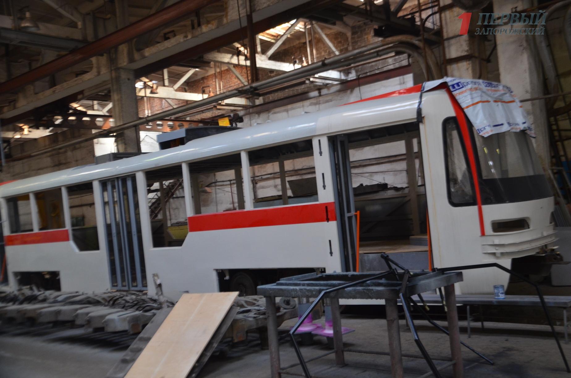 В Запорожье сократят капремонт трамваев на базе «Запорожэлектротранса» взамен на закупку б/у транспорта из ЕС – ФОТО