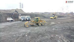 В Запорожье ведется масштабное строительство новой дороги на Северном шоссе - ФОТО