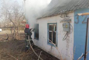 В Запорожской области во время пожара погибла женщина - ФОТО