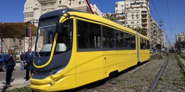 В Египте вышел на линию первый трамвай украинского производства с кондиционером и wi-fi